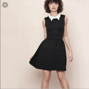 "Maje ""Rafaela"" contrast collar dress 2 (US M)"